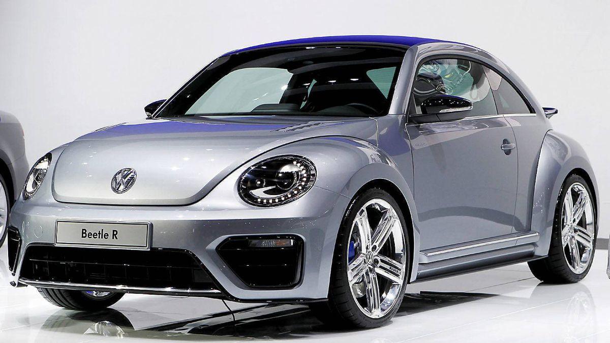 Volkswagen Beetle R concept car