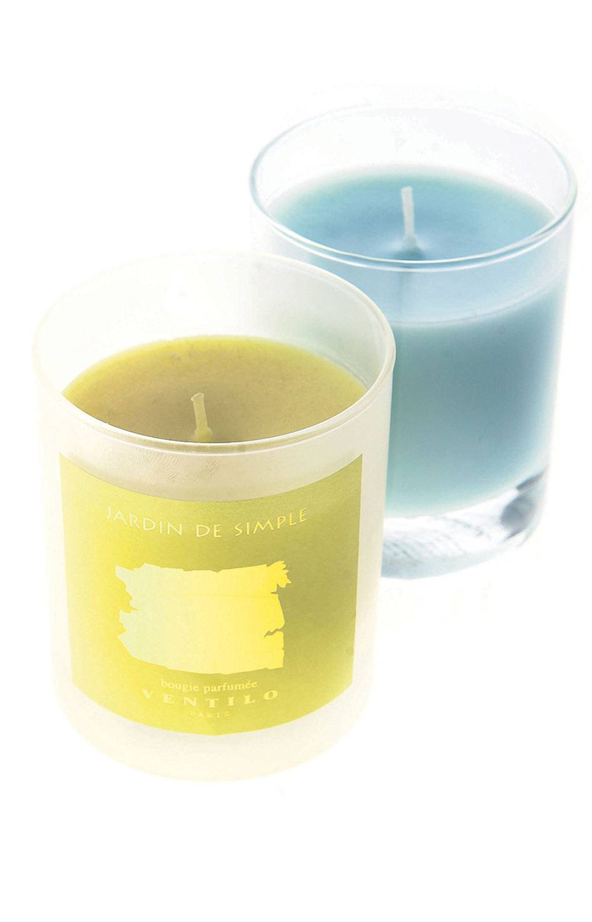 Let the delicate fragrance of a beautifully scented (and packaged) candle waft through your living space. Ventilo candles, $59.95 each at Putti (416-972-7652).