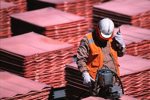 Copper's slump a warning sign for economy