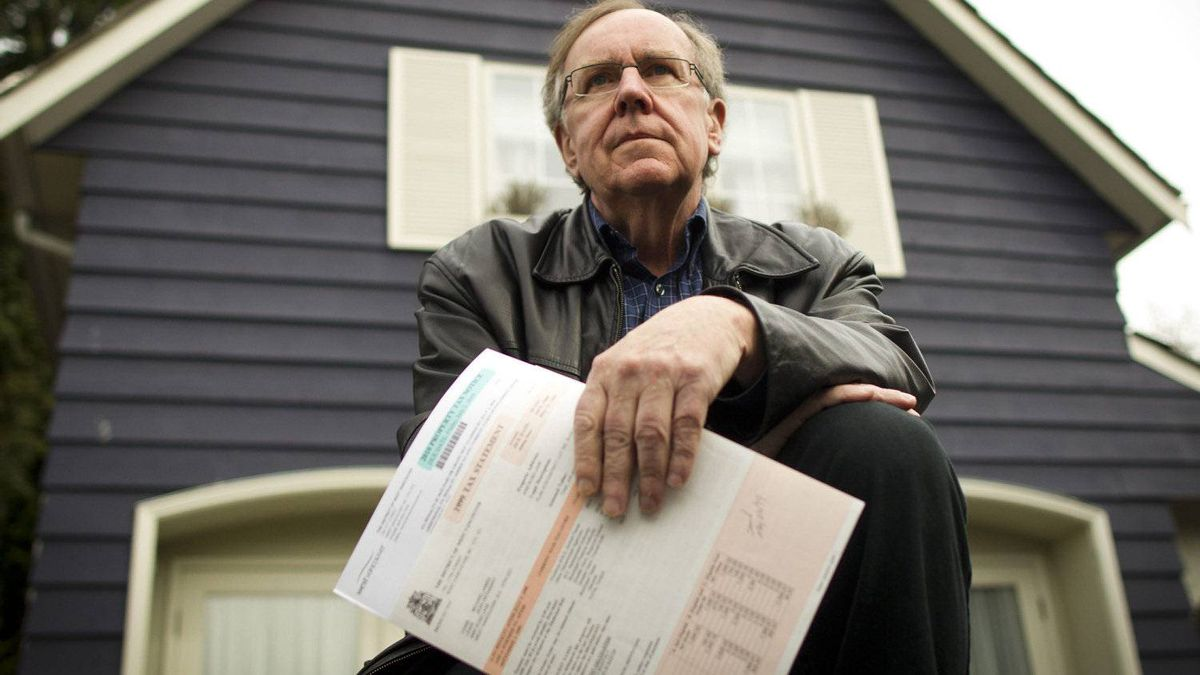 Michael Lewis at his home in West Vancouver March 30, 2012.