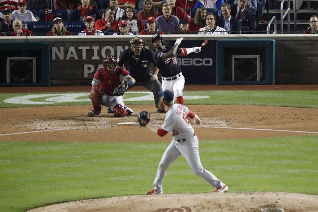 Nationals top Cardinals 8-1; take three game lead in National League Championship Series