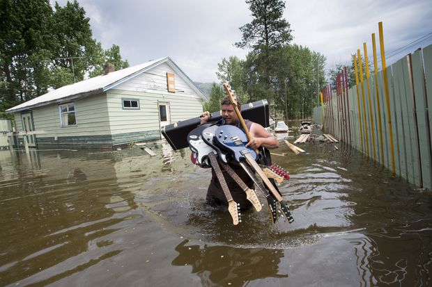 High temperatures threaten more flooding in B.C. as ... military assists ... as 2e77d6