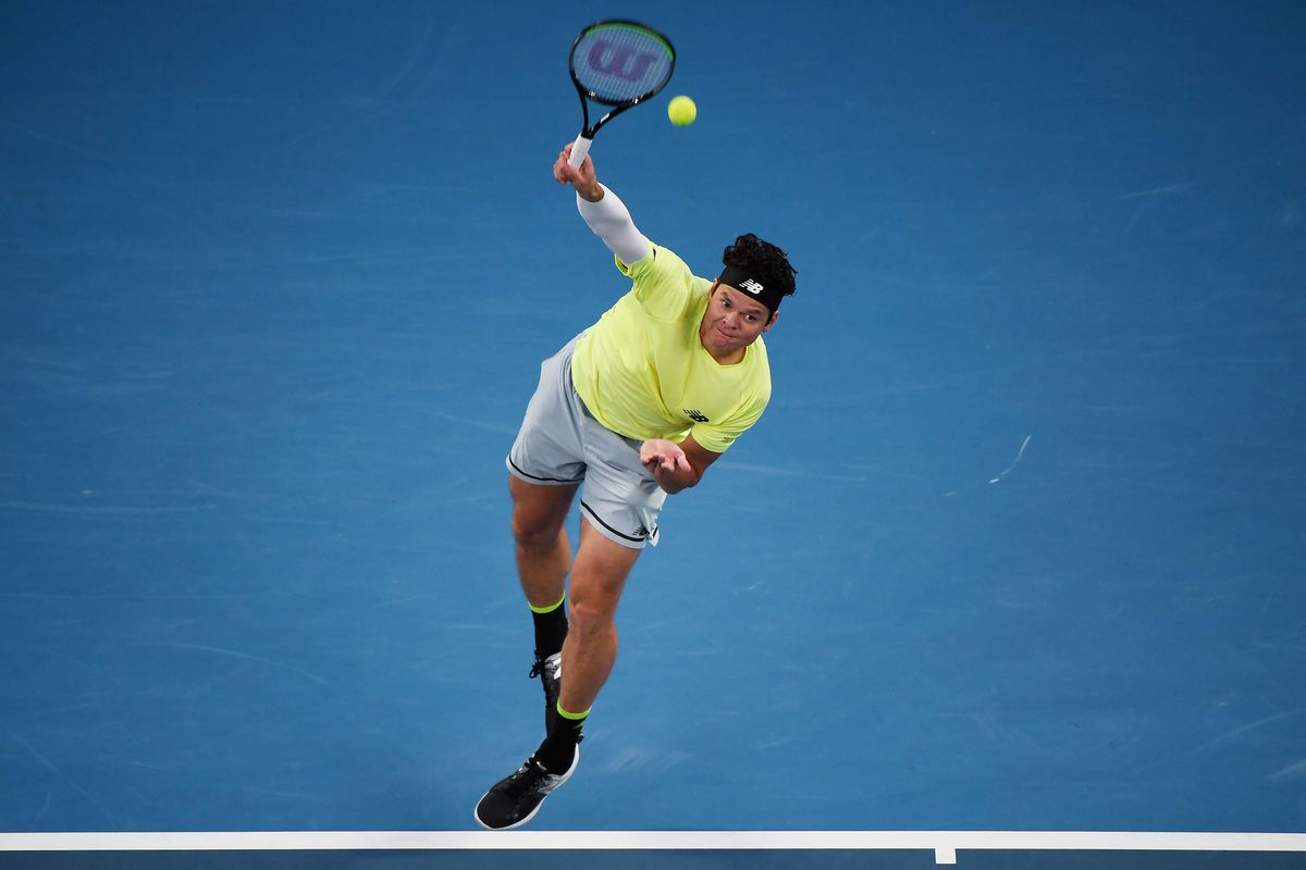 Milos Raonic reaches second round at Delray Beach Open