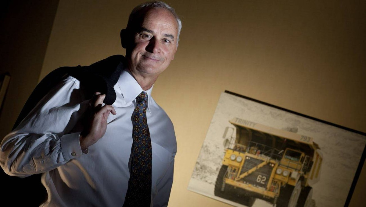 Finning CEO Mike Waites
