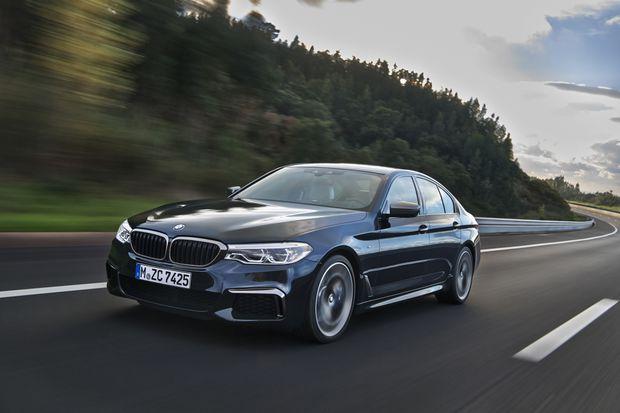 BMW M550i x-Drive vs  Mercedes-AMG E43 4Matic - The Globe and Mail