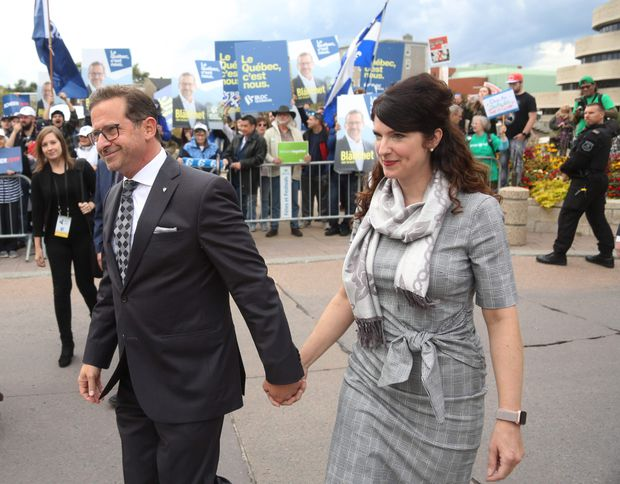 Bloc Québécois Leader Yves-François Blanchet emerges as the only winner in a field of losers this election