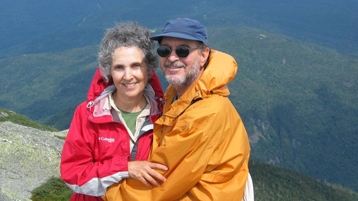 Arthur Herold photo: Love at 60 - My wife and I last summer following a gorgeous climb up Sunset Ridge to the summit of Mt. Mansfield, Vt