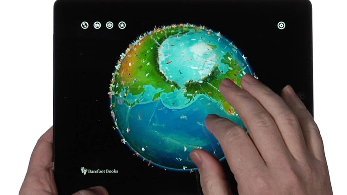Barefoot World Atlas a charming educational app for map or trivia geeks, and a good alternative for children clamouring to play 'Fruit Ninja' on your iPad