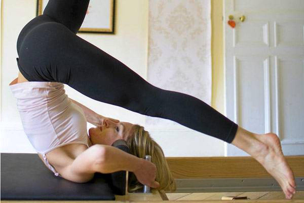 Pilates instructor Annie Venier helps ensure French women don't get fat.