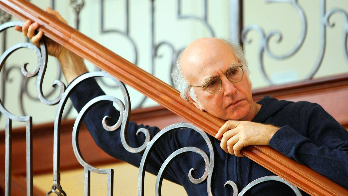 Creater, writer and star of Curb Your Enthusiasm, Larry David.