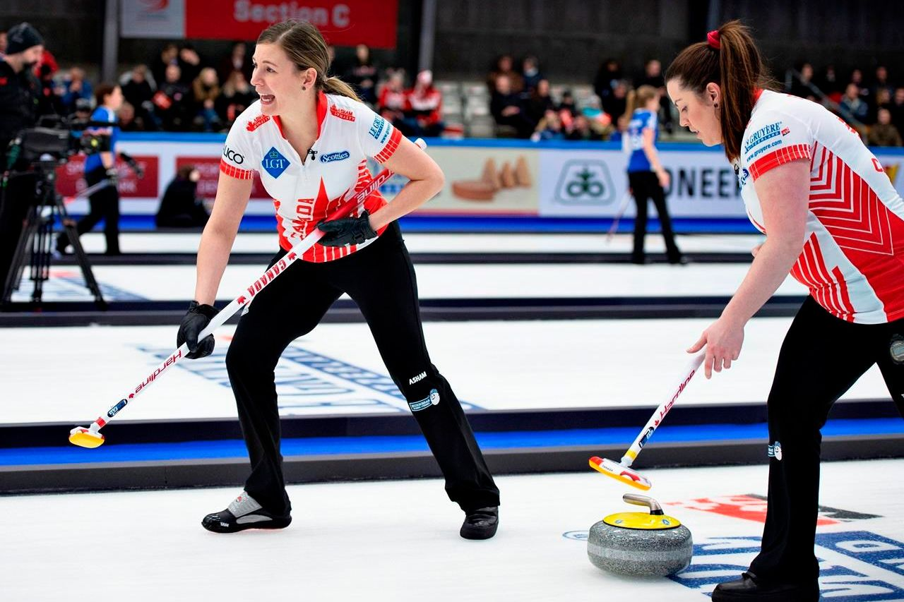 Chelsea Carey rink bounces back with 7-6 win over Finland at World Women's Curling Championships