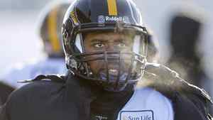 Hamilton Tiger-Cats' quarterback Kevin Glenn (5) watches from the sidelines in the second half of the East Final against the Winnipeg Blue Bombers' in CFL football action in Winnipeg, Sunday, November 20, 2011. THE CANADIAN PRESS/Trevor Hagan