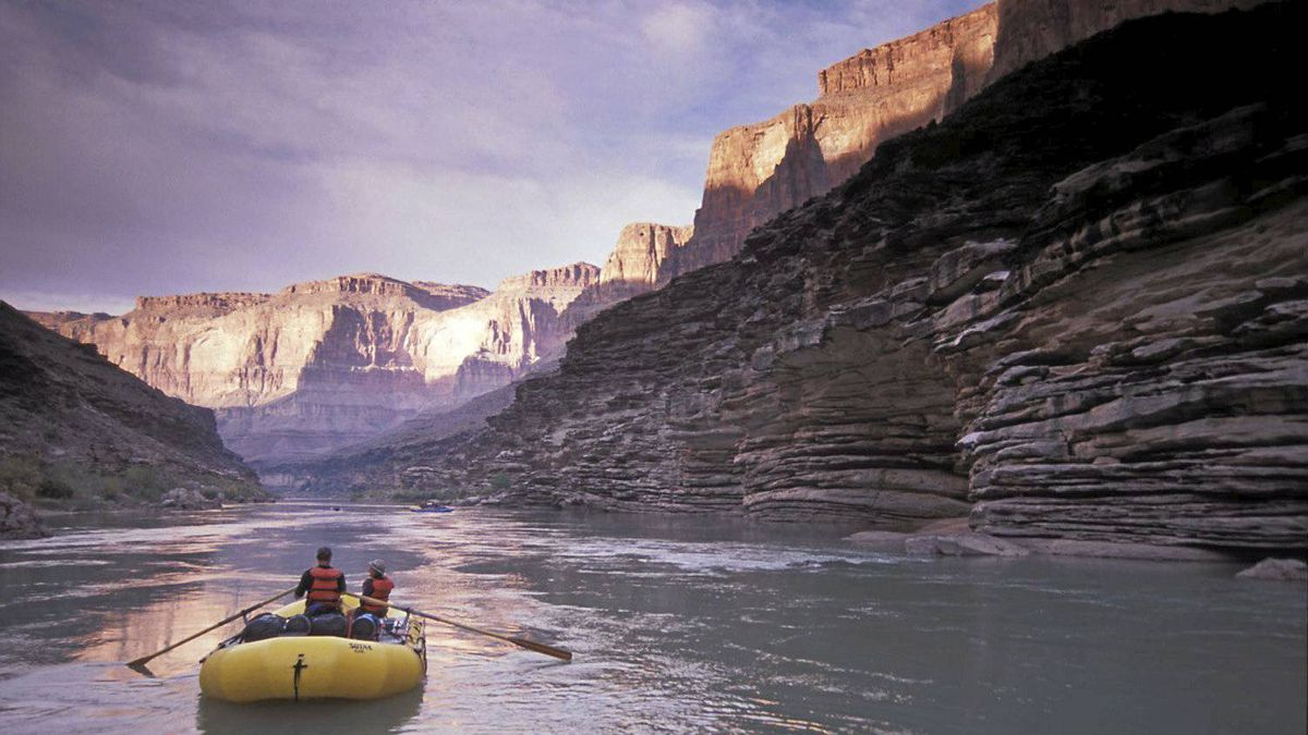 Floating through the Grand Canyon: Does it beat a city creek?