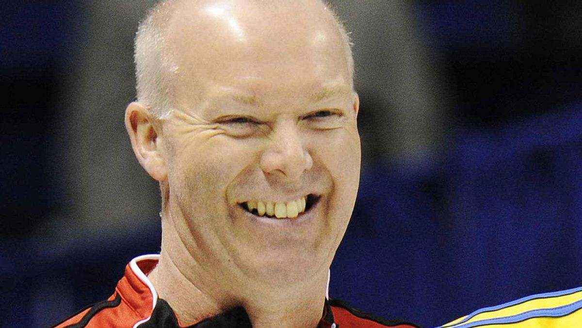 Glenn Howard won the Ontario Curling championship on Sunday with a tenth end victory over Peter Corner. FILE PHOTO: REUTERS/Mark Blinch