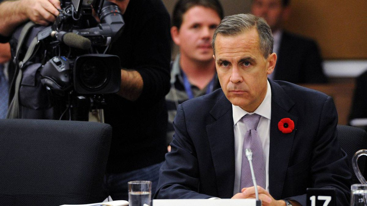Bank of Canada Governor Mark Carney.