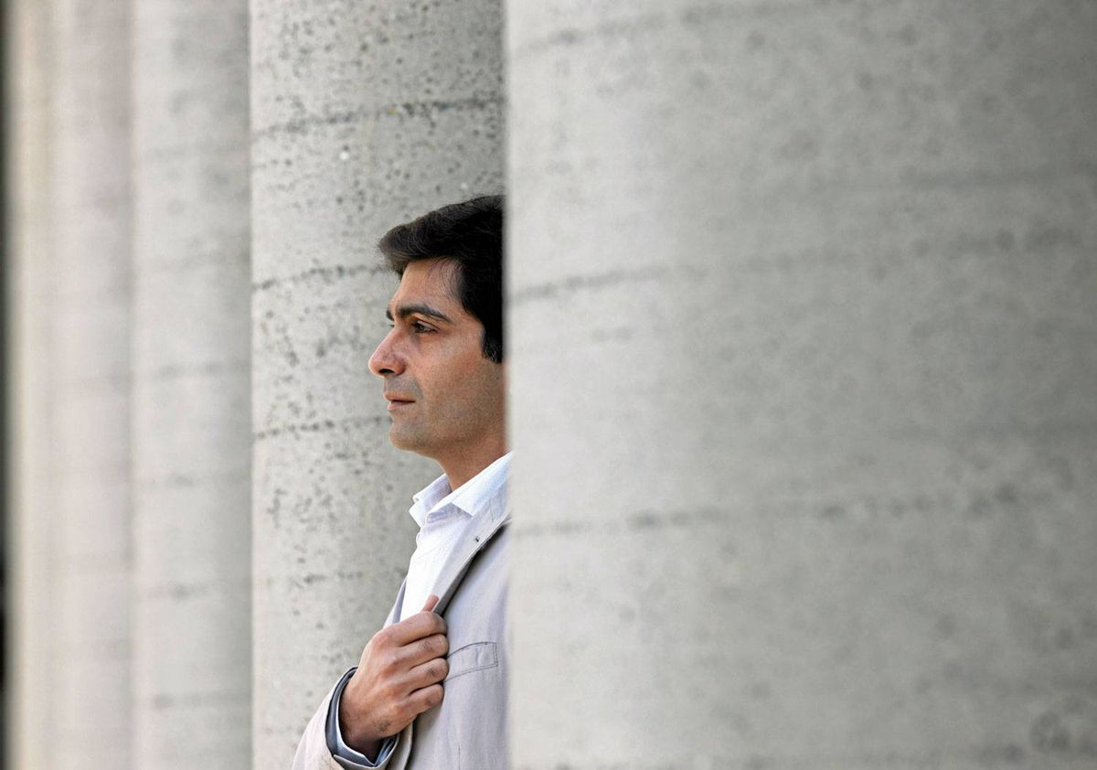 Anosh Irani in downtown Vancouver on April 12th, 2010. He spoke to Marsha Lederman about his latest book; an epic tale of forbidden love in India's caste system, with frequent forays into dark humour.
