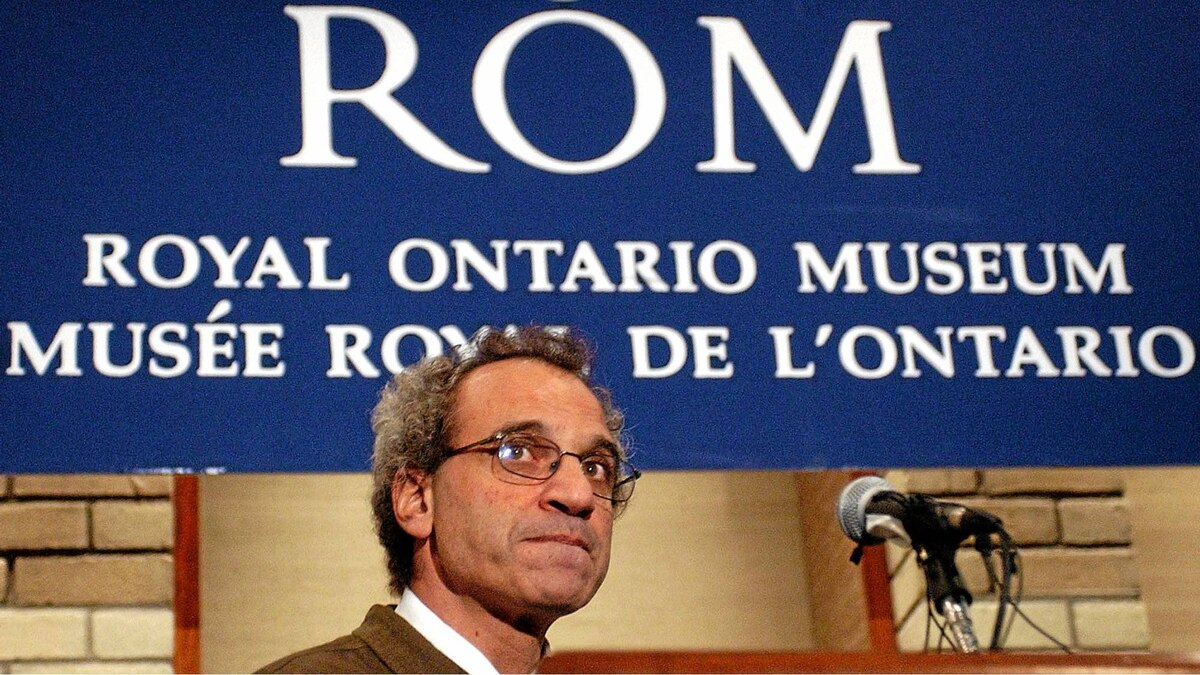 Dan Rahimi, Director of Collections Management at the Royal Ontario Museum.
