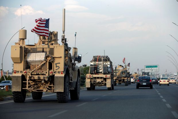 Iraq says U.S. forces arriving from Syria don't have permission to stay