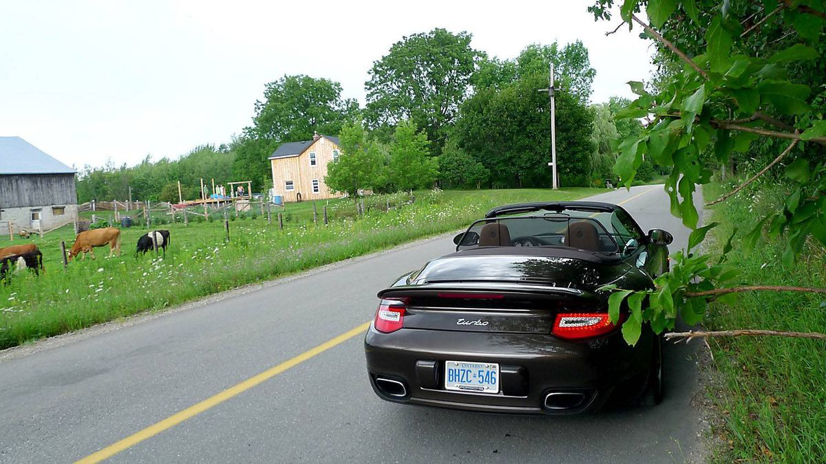 Grange Sideroad, near The Forks of the Credit