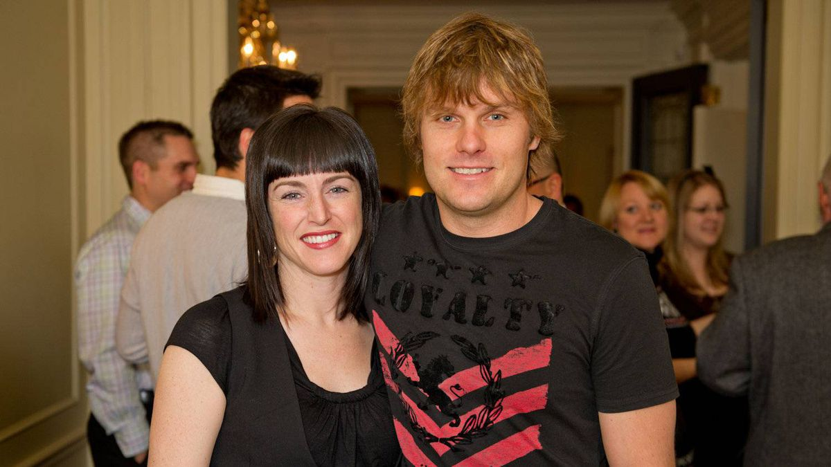 Louisa Marion-Bellemare and Jason Porritt