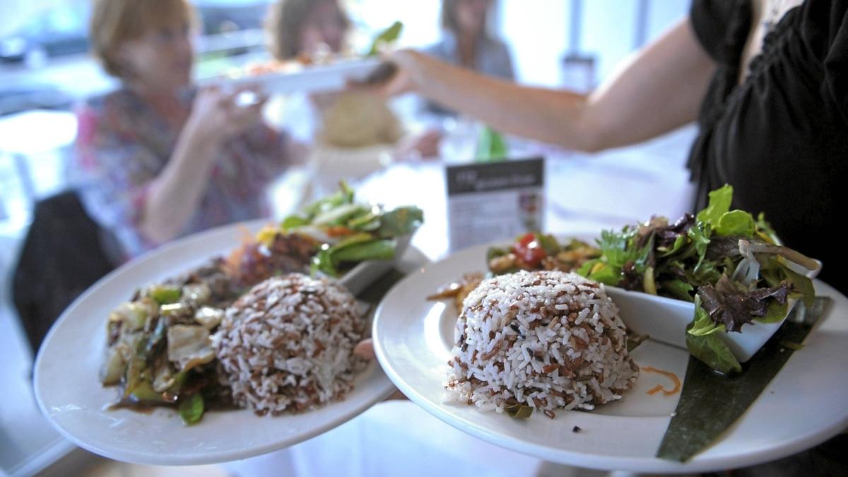 The Toronto restaurant Riz serves gluten-free food.