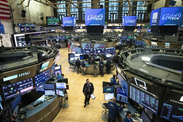 Wall Street trading halted after deep losses