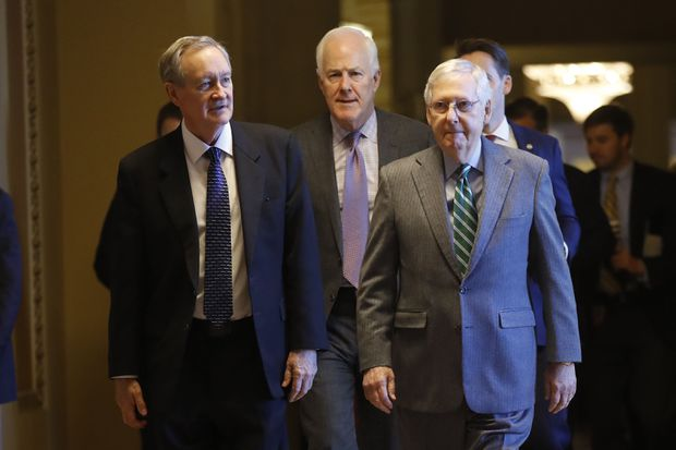 To acquit Trump, just how much will Republican senators have to hold their noses?