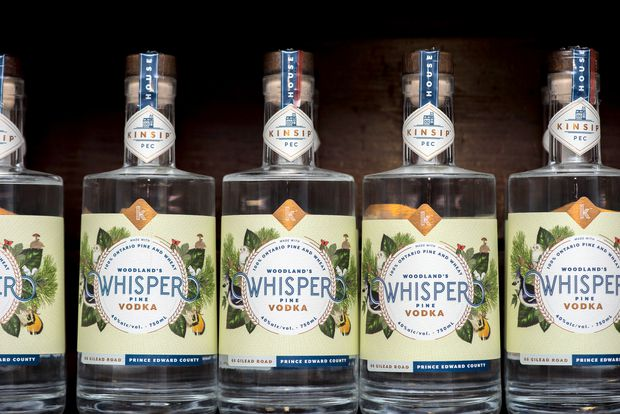 Vodka makers are coming after gin drinkers, and using botanicals to do it
