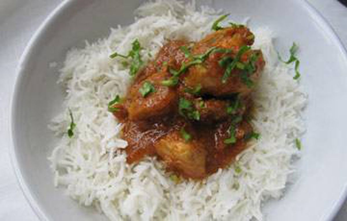 Blogger Shayma Saadat rooted herself in childhood dishes, like Pakistani chicken curry, to ward off the isolation of moving to Toronto. Shayma Saadat/The Spice Spoon