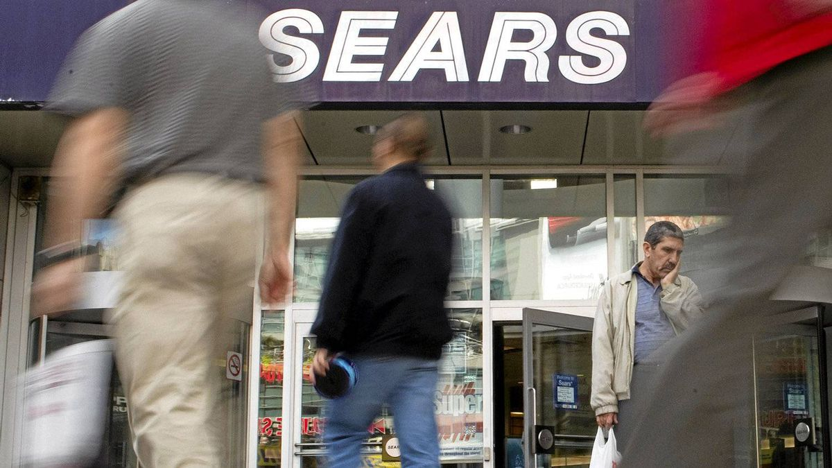 Sears Canada is in a race against time to turn things around. Photo by Chris Young for The Globe and Mail.