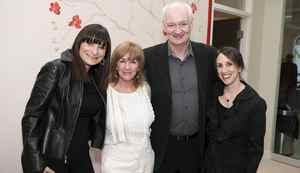 Jeanne Beker, Deb McGrath, Colin Mochrie and Elana Shapiro at Gilda's Club.