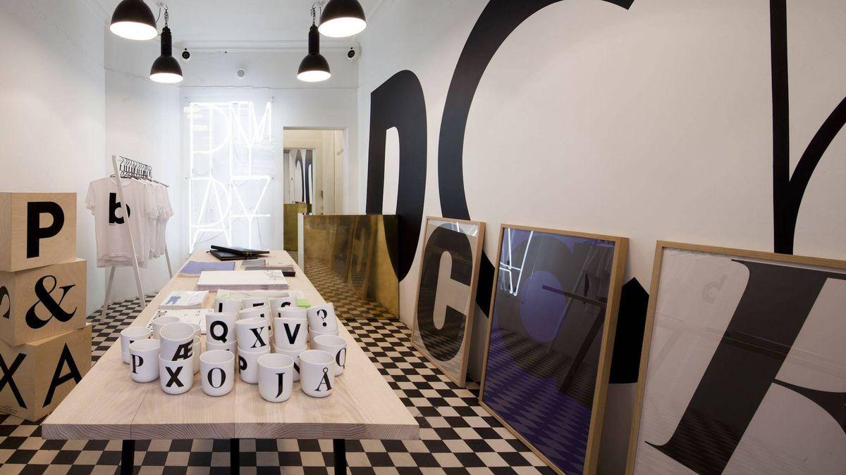 Playtpe shop in Copenhagen.