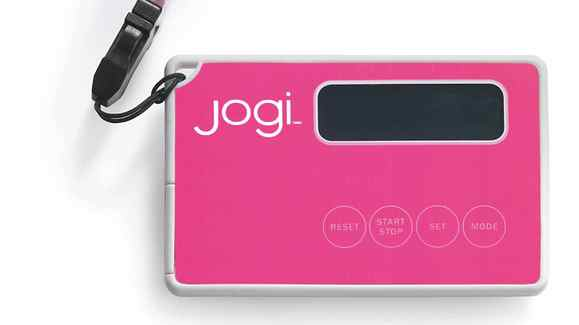The Jogi pedometer is part of the new health-and-wellness line of products from Joe Fresh.
