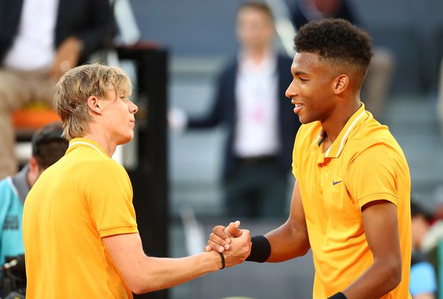 Félix Auger-Aliassime and Denis Shapovalov to meet in first round of U.S. Open again