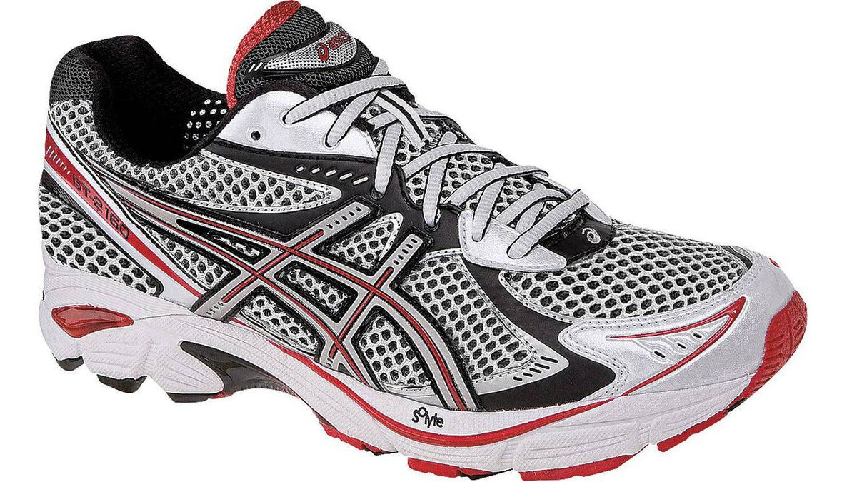 1. STABILITY Asics 2160, $160 This season, Asics updates this hugely popular shoe with a heel-to-toe Guidance Line groove that encourages a more efficient transition from heel strike to toe-off. Asics also adds a plusher forefoot midsole and memory foam in the collar for increased comfort during long runs. Ideal Runner: Mild to moderate pronators wanting a smooth, efficient ride without compromising comfort or the secure, foot-hugging Asics fit. It?s perfect for anything from 10K runs to marathons. No wonder this continues to be the go-to shoe for so many runners.
