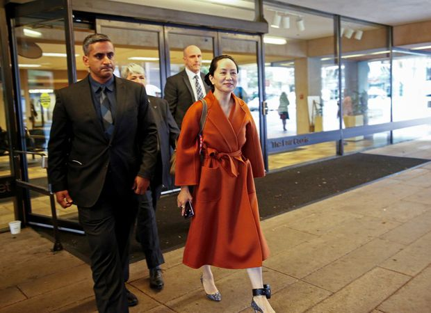 Meng Wanzhou: Oil work and books for detained Huawei govt