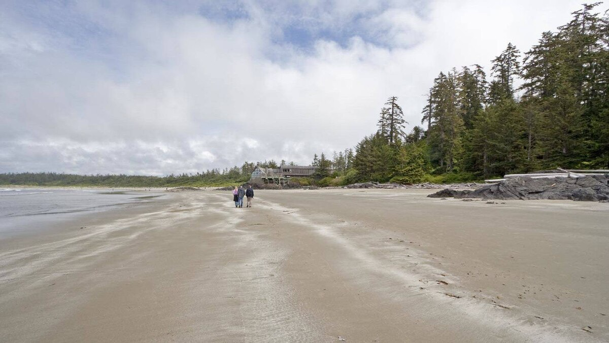 Wickaninnish Bay in Pacific Rim National Park.