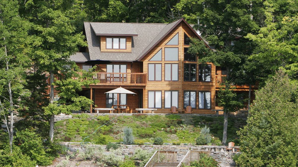 Leaving the family cottage to children will cost you or them the globe and mail - Countryside homes parents welcoming ...