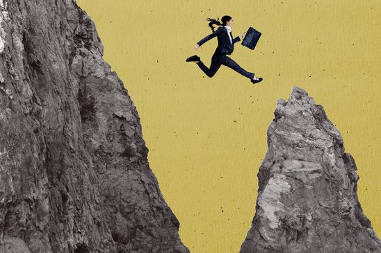 Amplify: I took a scary career leap - and it's been great