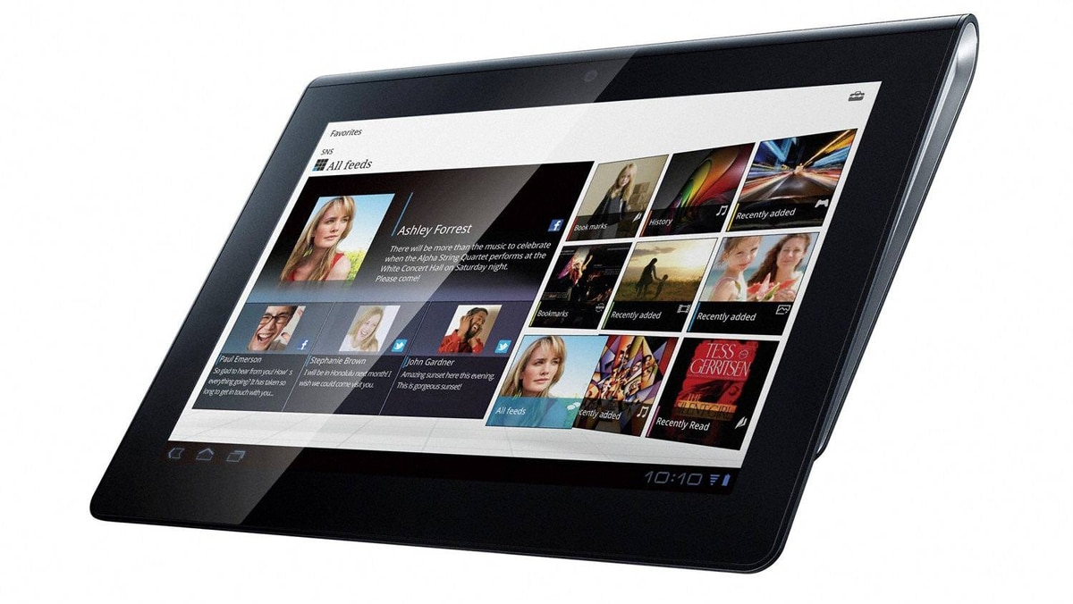 Sony S Sony's slate takes a chance with a book-like form factor for reading and media consumption. It's not the home run the company was looking for with their tablet offerings, but this Android-powered tablet is by no means underpowered.
