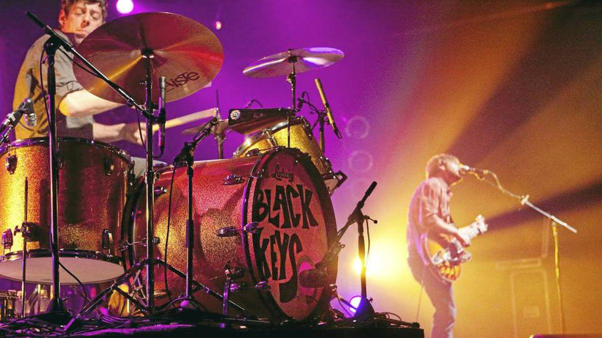 The Black Keys perform at Kool Haus in Toronto on Aug. 3.