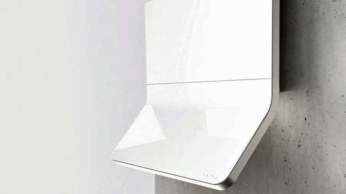 SLEEK, SUBTLE, SEXY HOODS Horizon wall hood by Zephyr, $4,000 at appliance stores across Canada (visit www.zephyronline.com for retailers).