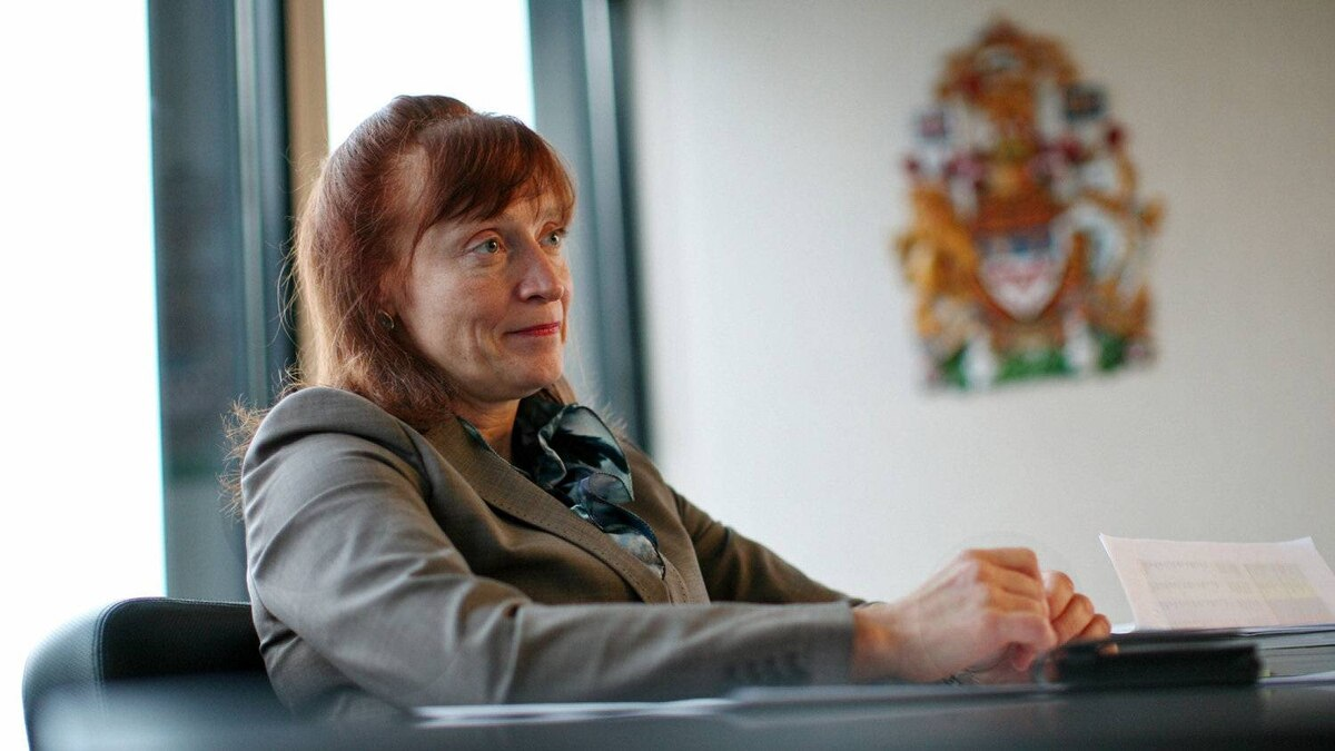 Information Commissioner Suzanne Legault gives an interview in her Ottawa office in January 2011.