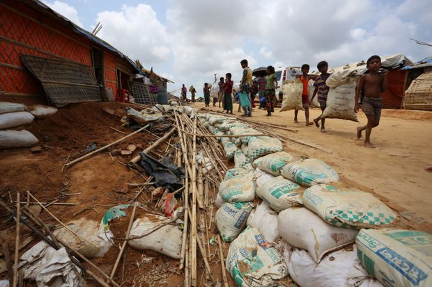 Fear spreading among Rohingya refugees as they brace for