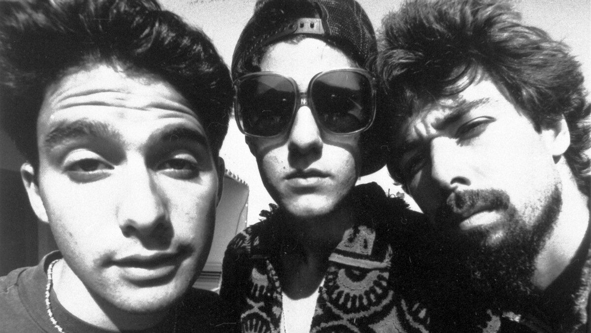 "The Beastie Boys (from left) Adam ""Adrock"" Horovitz, Michael ""Mike D"" Diamond, and Adam ""MCA"" Yauch. 1989 file photo."