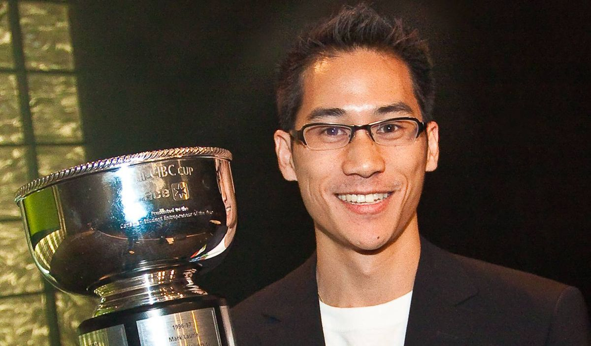 """""""The trophy for ACE Canada Student Entrepreneur of the Year is suspiciously similar to the Stanley Cup,"""" says Mr. Cheung, who took it home in May 2010."""