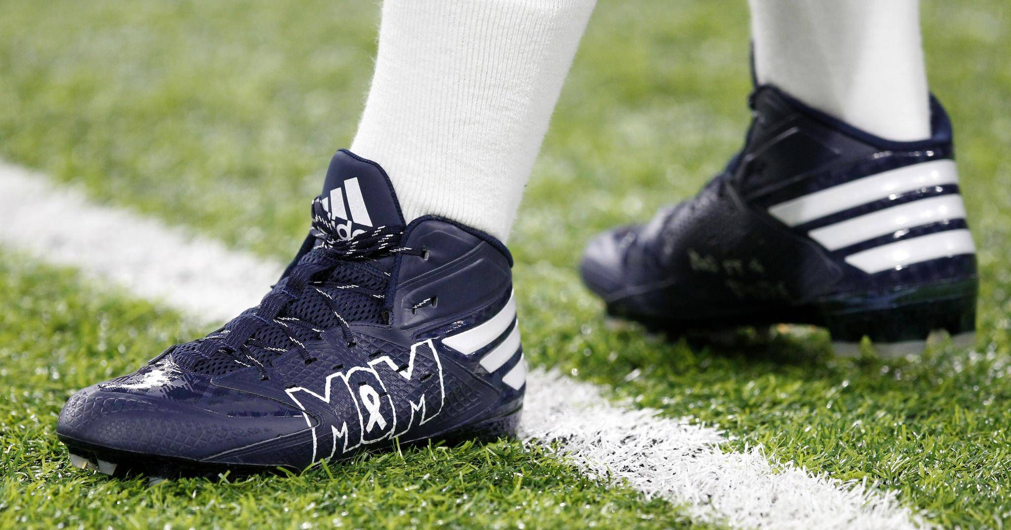 d19a27bbc922a NFL footwear rules waived to allow cleats for charity causes - The ...