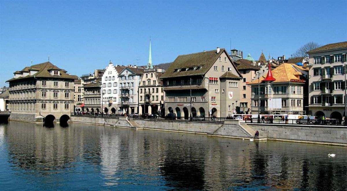 Zurich's Old Town neighbourhood has hardly changed in 200 years.