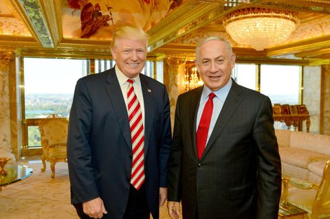 Netanyahu elated at Trump's condemnation of Iran nuclear pact