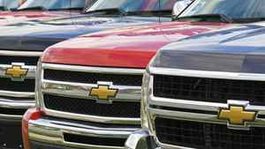Light truck purchases in Canada fell 4 per cent below a year earlier, undercut by rising gasoline prices, the Scotiabank report said.